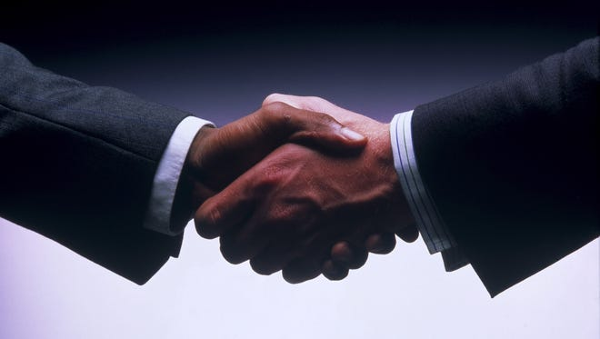 A handshake is one form of civility.