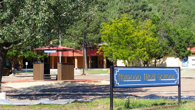 Ruidoso High School classes began Monday as did elementary and middle school grades.