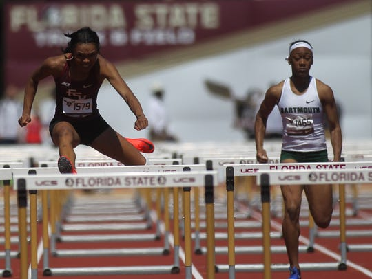 FSU's Cortney Jones races to a win in the 100-meter