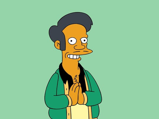 "Kwik-E-Mart proprietor Apu is a character on ""The Simpsons,"""