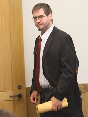Anthony DiPippo, shown at his sentencing in 2012, is appealing his murder conviction in the 1994 slaying of 12-year-old Josette Wright in Carmel.