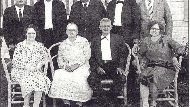 Platt family in 1928.