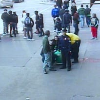 RAW: St. Patrick's Day attack outside Horseshoe Casino