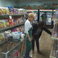 Eligible shoppers in three Dallas zip codes can qualify for free food from Our Community Pantry.