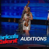 """Mountian Faith bluegrass band of Sylva performed a version of """"Counting Stars"""" by One Direction on an episode of """"America's Got Talent"""" that aired Tuesday."""