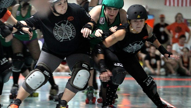 Tallahassee Rollergirls take on the Gold Coast Derby Grrls from Broward County on Saturday.