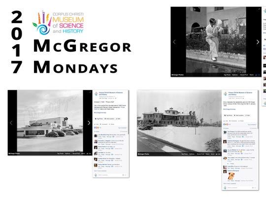 "The Corpus Christi Museum of Science and History won an award for a social media campaign titled ""McGregor Mondays."""