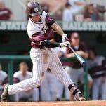 Mississippi State shortstop Seth Heck.