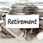 Photo illustration - saving money for retirement is a challenge for many Americans.