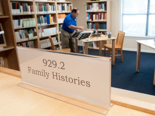 SR Genealogy Library