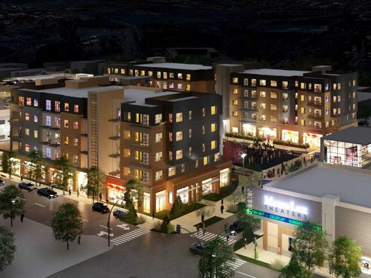 Architectural rendering of The Foundry in downtown Loveland. The project is being built by Brinkman of Fort Collins.