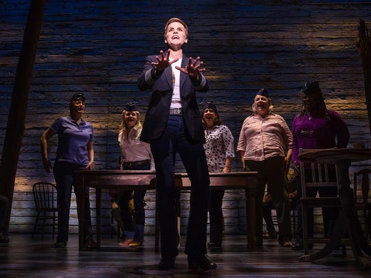 """Jenn Colella in """"Come From Away."""""""
