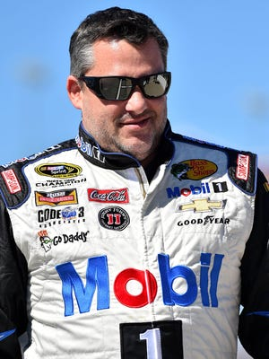Tony Stewart says he hasn't been doing regular rehab for his broken back, instead doing projects around his house.