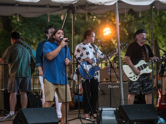 The group Wishbone performs as Wetumpka holds it's Fourth of July celebration Monday, July 4, 2016, at Gold Star Park.