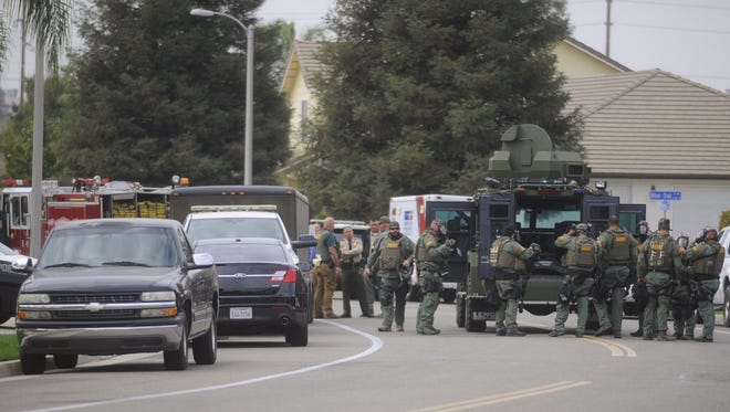 SWAT was called to the scene of a Tulare standoff.