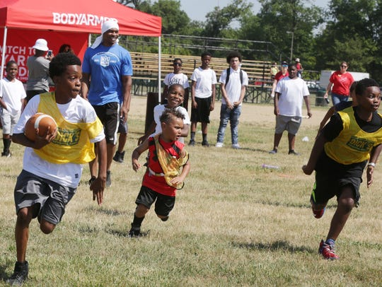 Sports activities are a key part of Metro Detroit Youth Day.
