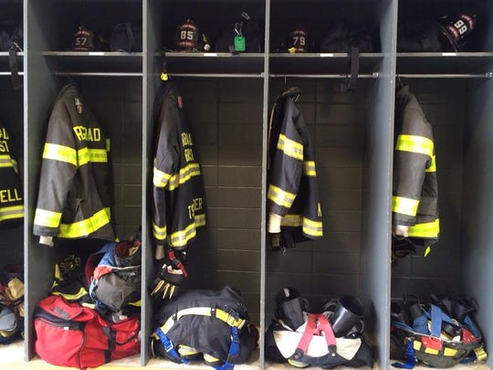 Scenes from the Ridge Road Fire District on 9/11.