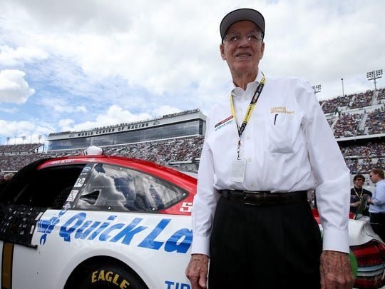Glen Wood was inducted into the NASCAR Hall of Fame in 2012.