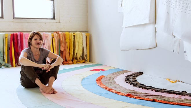 Artist Marie Watt plans to create a blanket sculpture for the Rockwell Museum in Corning.