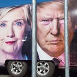 Trump, Clinton deadlocked in poll before key debate