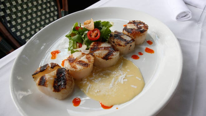 Scallops at Centro in downtown Des Moines.