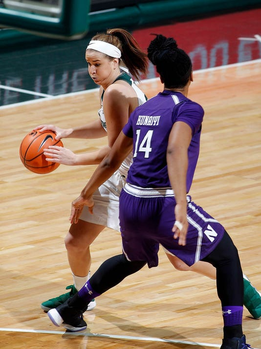 MSU vs Northwestern Women's Basketball