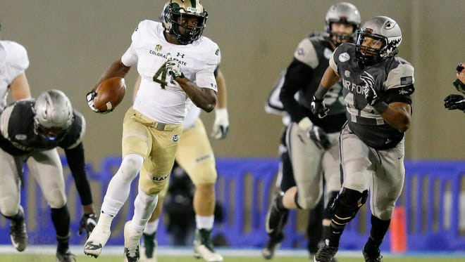 Michael Gallup was picked in the third round of the NFL draft by the Dallas Cowboys on Friday night.