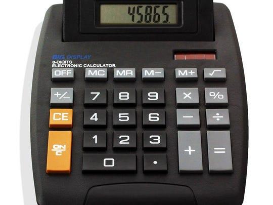 Studio Tilt Top Calculator
