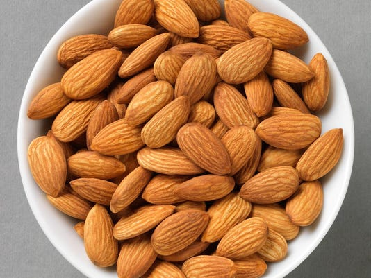 Bowl of Almonds 1