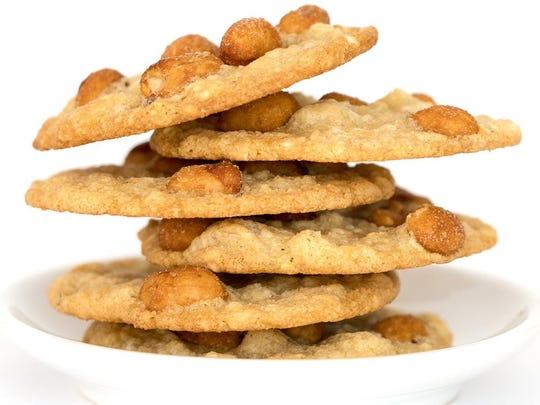 Skinny-Peanut-Cookies