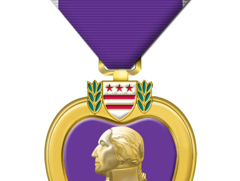 Purple Heart medal returns to WWII soldier's family