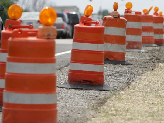 Road repair projects could cause delays for drivers in the St. Johns and Williamston areas beginning this weekend.