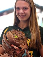 Montgomery junior pitcher Peyton Schnackenberg is the