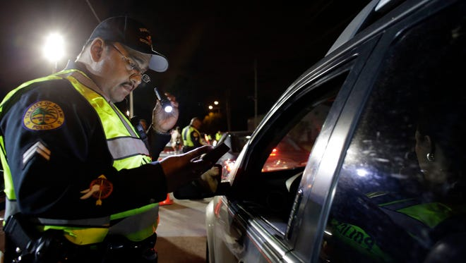 The Supreme Court wrestled Wednesday with state laws that make it a crime to refuse breath or blood tests for drunk driving, even when police lack a warrant.