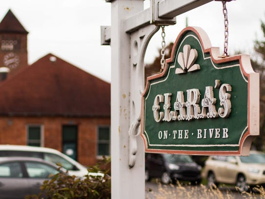 Clara's on the River located downtown Battle Creek.