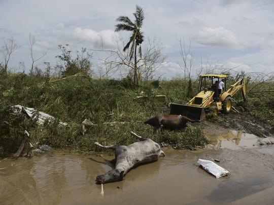 APTOPIX Puerto Rico Hurricane Maria