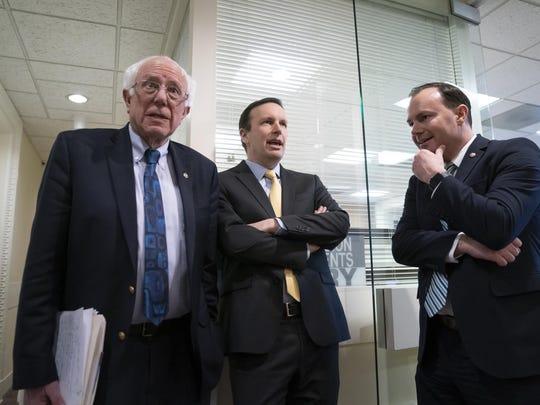 Bernie Sanders,Chris Murphy,Mike Lee