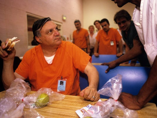 Arpaio inmate tent city