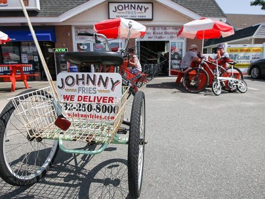 John Spadavecchia, owner of Johnny Fries in Ortley