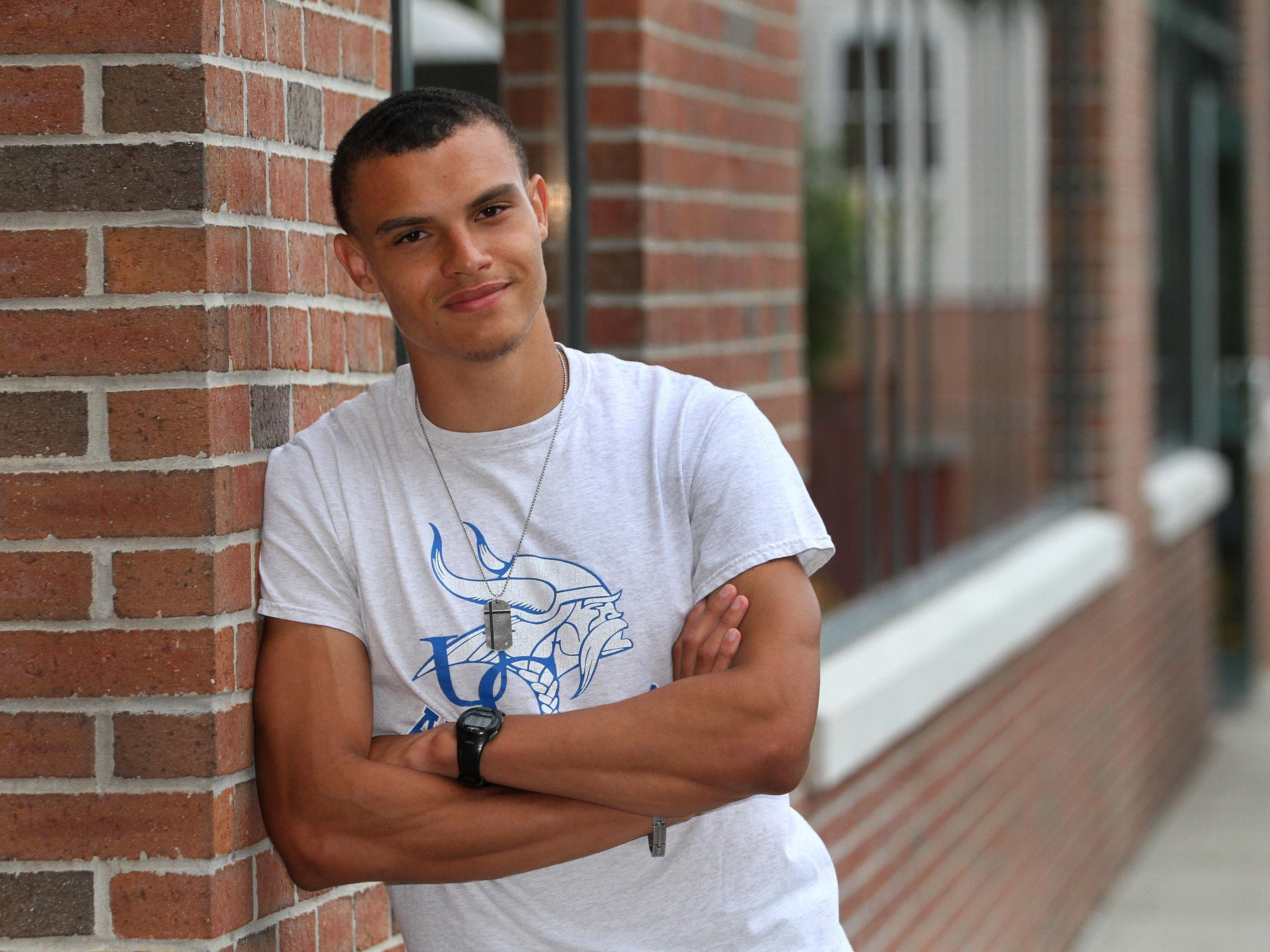 Courier News All Area boys track - Player of the Year is Union Catholic's Taylor McLaughlin.