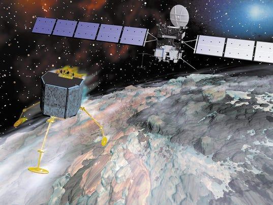 EPA FILE GERMANY SPACE PHILAE SCI SPACE PROGRAMMES DEU