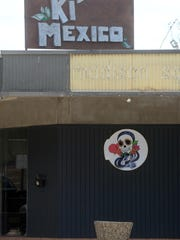 The new sign for Ki' Mexico has gone up at the location in Madison Park on Gilbert Drive.
