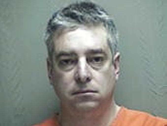 Dr. Bruce Levy, age 49, in a mugshot when he was charged with possession of marijuana in Mississippi after authorities there intercepted a package of marijuana bound for his hotel room. He entered a pretrial diversion program, avoiding conviction and allowing him to eventually expunge the charge.