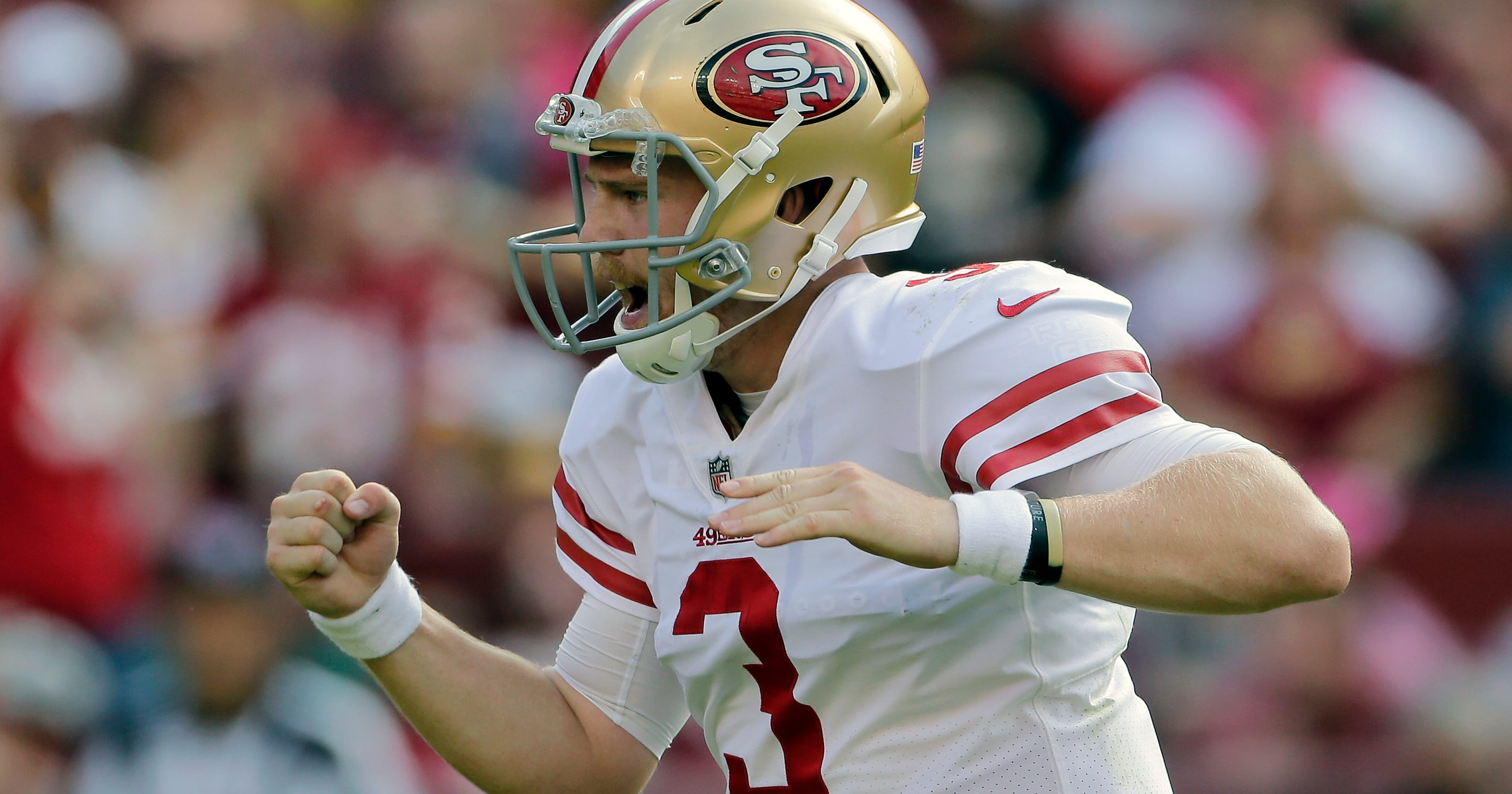 646a9070ddc Rookie C.J. Beathard ready to take over as 49ers starting QB
