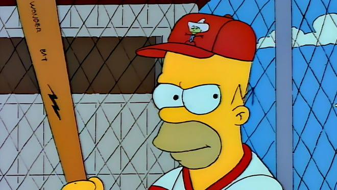 "The Simpons' ""Homer at the Bat"" episode aired 25 years ago on FOX, on Feb. 20, 1992. It will be honored at the National Baseball Hall of Fame on Saturday, May 27, 2017."