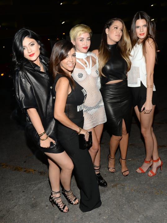 Miley and the Kardashians