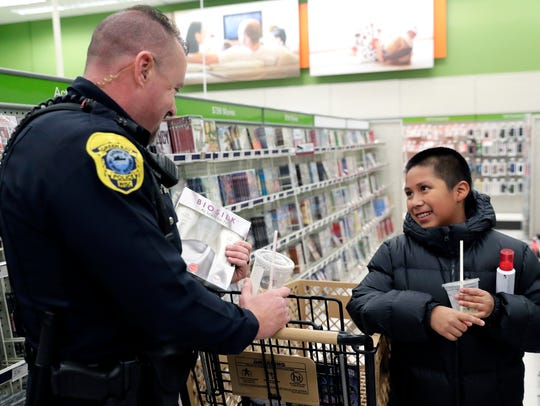 More than 180 children participated in the 23rd annual Shop with a Cop event Saturday at Shopko stores throughout the Green Bay area.