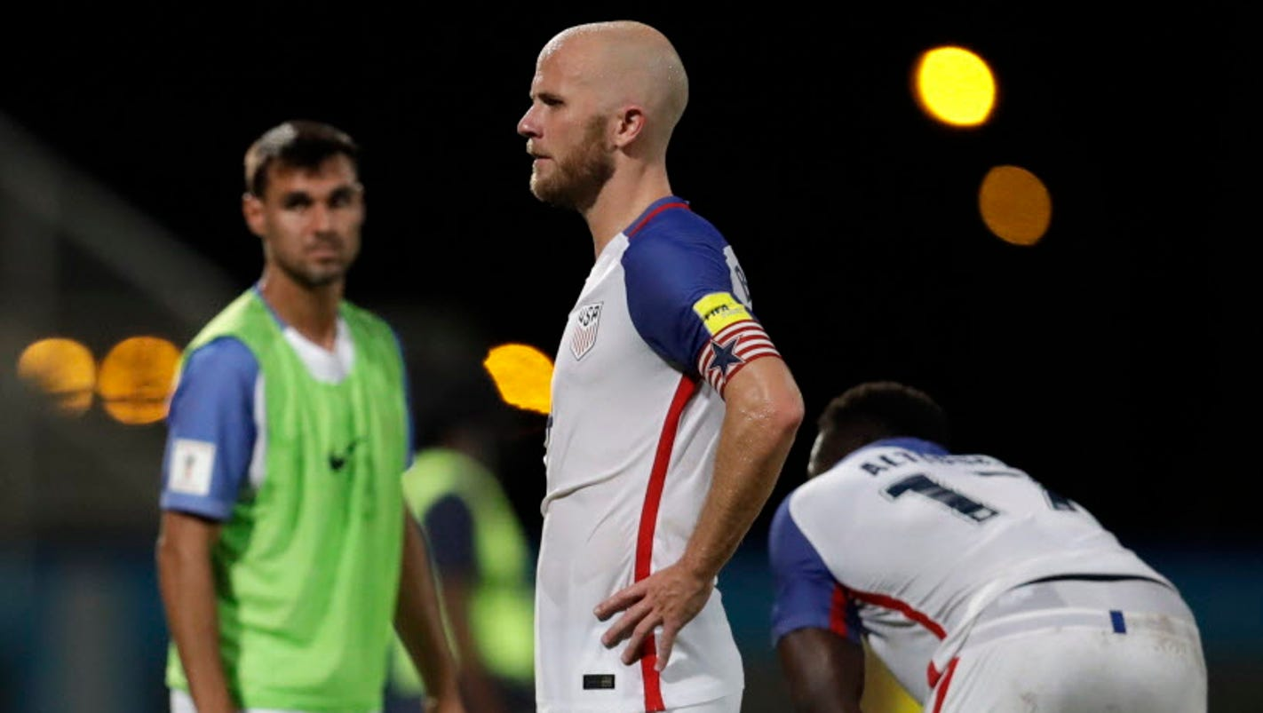 U.S. men's national soccer team fails to qualify for 2018 World Cup