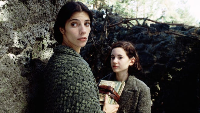 """Maribel Verdu and Ivana Baquero share a moment in """"Pan's Labyrinth."""""""