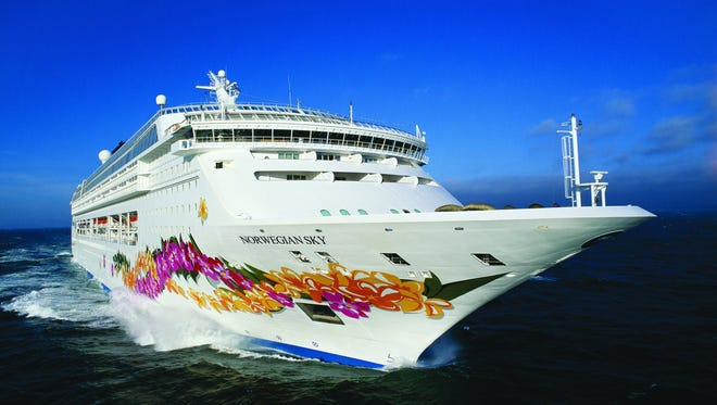Norwegian Cruise Line's 2,004-passenger Norwegian Sky began sailing to Cuba out of Miami in May 2017.